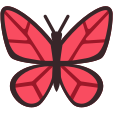 :butterfly_red: